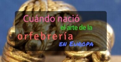 historia orfebrería Europa